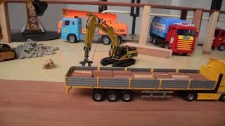 Excavator videos for children | Trucks for children | Construction trucks for children | Anatoy