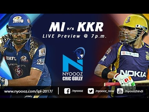 Live IPLT20: Kolkata Knight Riders vs Mumbai Indians match preview on Cric Gully