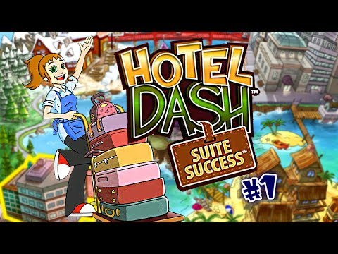 Hotel Dash: Suite Success | Gameplay (Level 1 To 5) - #1