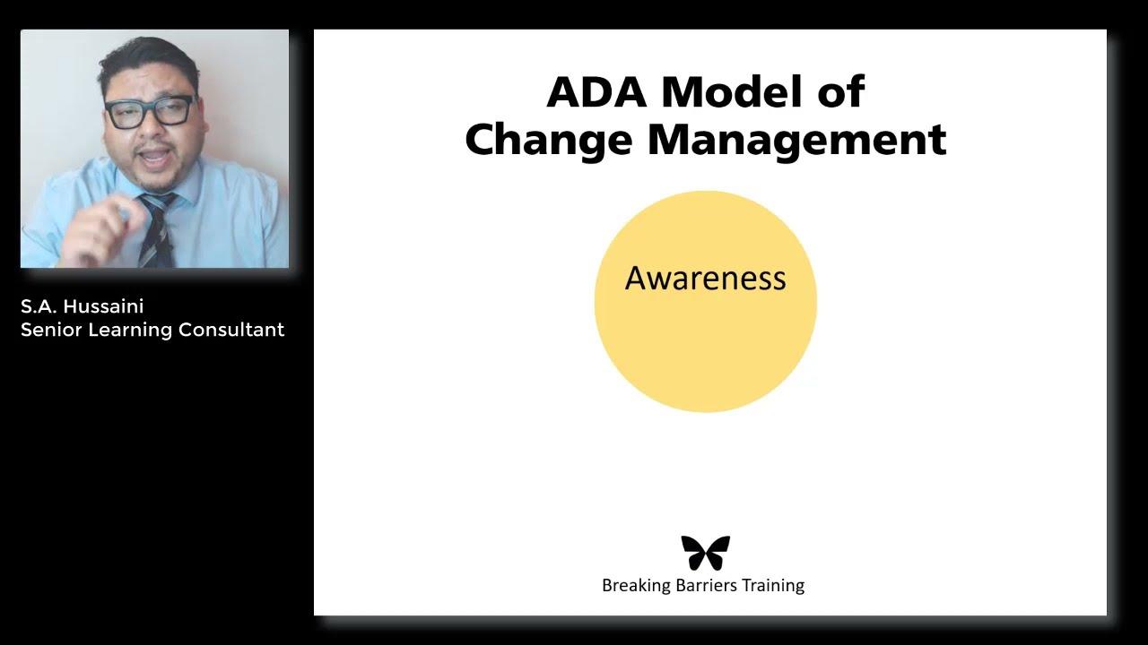ADA Model of Change Management