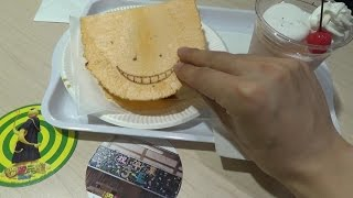 I went to Assassination Classroom Cafe at Tokyo Sky Tree(secound To...