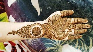 Arabic Henna Design 2 By Heena Vahid