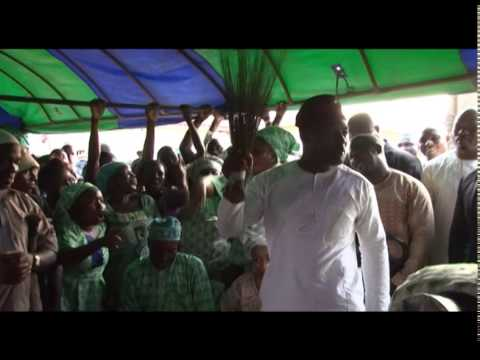 DAYO ADENEYE  STORMS ODOGBOLU CONSTITUENCY, OGUN STATE