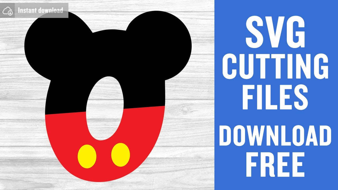Download Micky Numbers Zero Svg Free Cutting Files for Silhouette ...