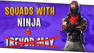 Fortnite - Squads with Ninja & Trevor May - October 2018   DrLupo