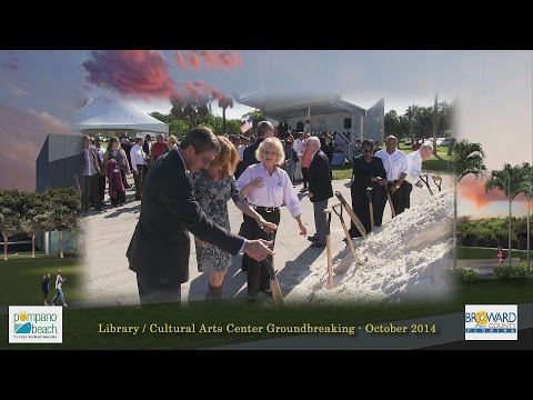 CULTURAL ARTS CENTER / LIBRARY GROUNDBREAKING