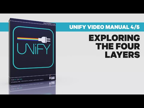 Unify Video Manual 4/5: Exploring the 4 Layers