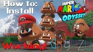 How to play Super Mario Odyssey on PC (Yuzu Emulator)