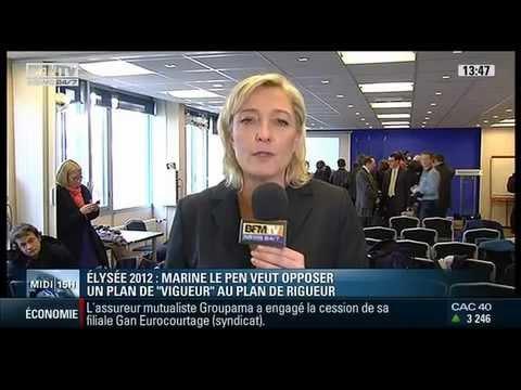 Chiffrage du Projet 2012 - Interview de Marine Le Pen