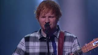 "Ed Sheeran Performs ""ain't No Sunshine"""
