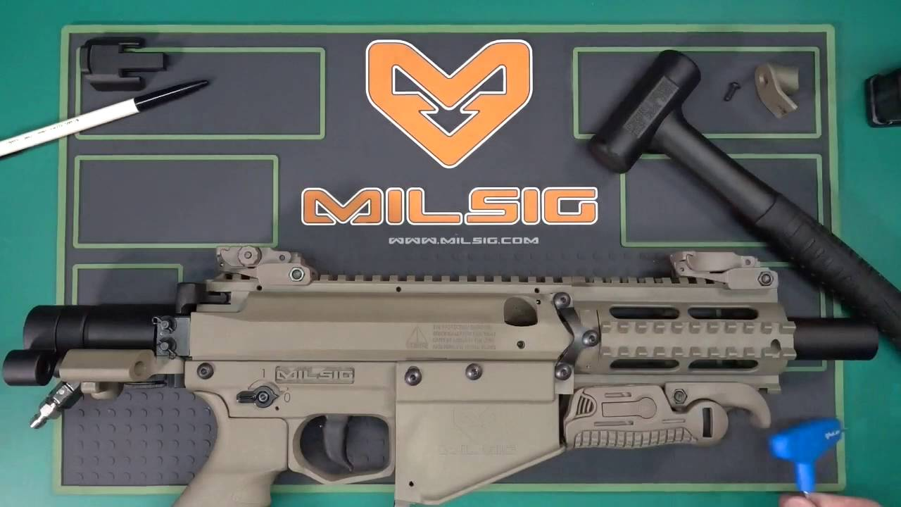 Milsig M17 Bolt Reset Handle Plug Installation Youtube
