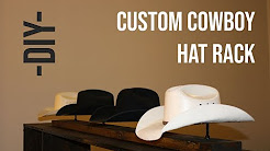 DIY - How to Build a Cowboy Hat Rack