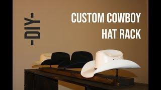 DIY - How to Build a Cowboy Hat Rack