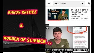 # Robot 2.0 ,#Akshay Kumar , science and DHRUV RATHEE :- A WILFUL OFFENDER AND LIER.