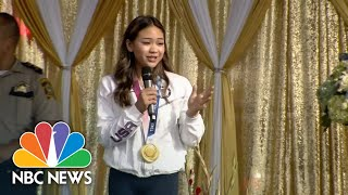 Olympic Gold Medalist Suni Lee Welcomed Home With Parade In Minnesota