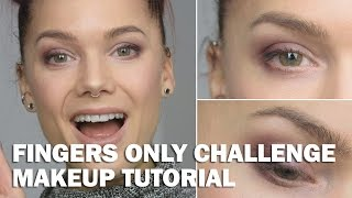 Fingers only challenge (with subs) - Linda Hallberg Makeup Tutorials Thumbnail