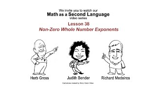 Non-Zero Whole Number Exponents