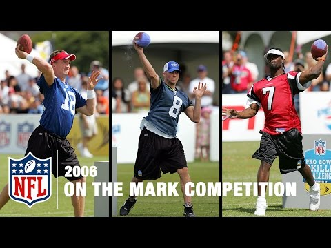 On the Mark QB Skills Competition (2006) | NFL Pro Bowl Skills Challenge