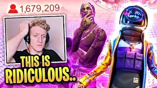 Tfue Reacts to TRAVIS SCOTT Concert LIVE in Fortnite! (FULL EVENT)