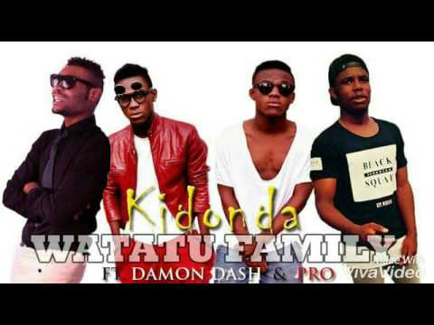Watatu FAMILY & Damon dash (audio song kidonda)