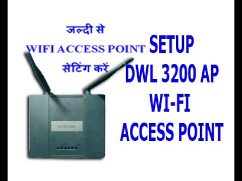 how to make a d-link dsl2770l an access point