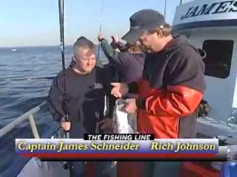 Jigging Bluefish In Long Island Sound