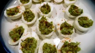 Clean Eats: Avocado Deviled Eggs