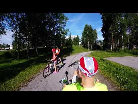 Recumbenting in Jyvaskyla, Finland