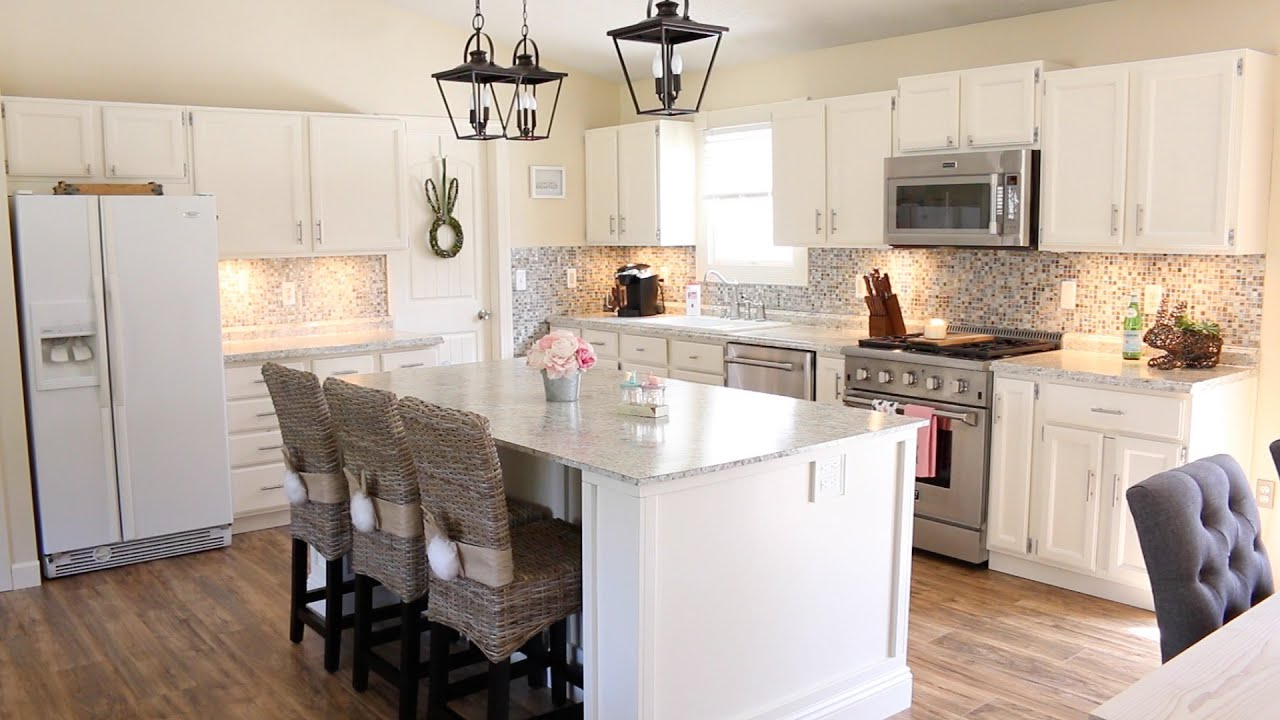 My new kitchen mini kitchen tour remodel update youtube for Updated kitchen remodels