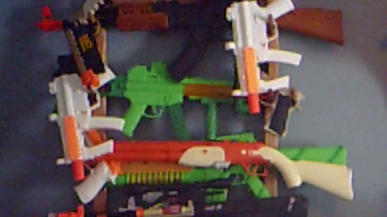 My toy gun collection youtube