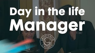 Casino Manager – A day in the life