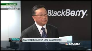 Blackberry Unveils New Smartphone | Mobile World Congress 2015 | CNBC International