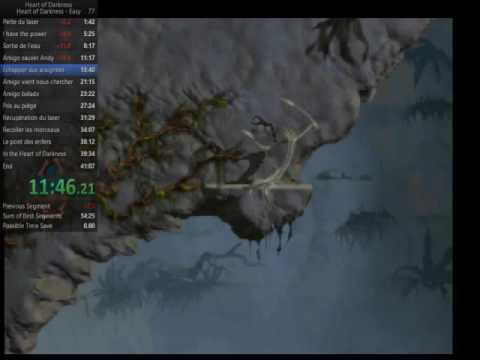 World Record Speedrun - Heart of Darkness Any% easy in 37:18