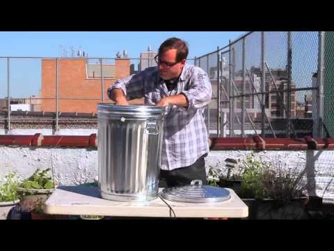 How to Make a Meat Smoker with a Trash Can - Better Bacon Book