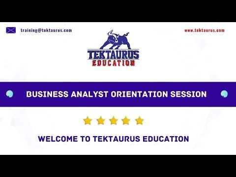 Business Analyst Course Training | TekTaurus Education