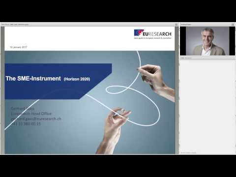 Euresearch Webinar Horizon 2020 - The SME Instrument