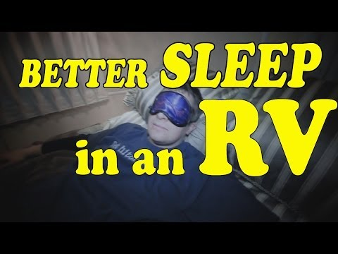 HOW TO SLEEP in an RV! 😴💤💤💤