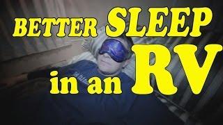 HOW TO SLEEP in an RV! 😴💤💤💤