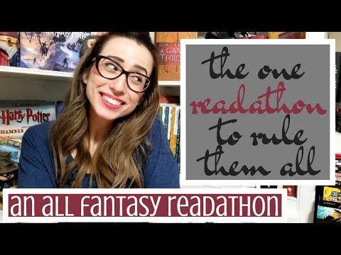 THE ONE READATHON TO RULE THEM ALL TBR | THE ALL FANTASY READATHON