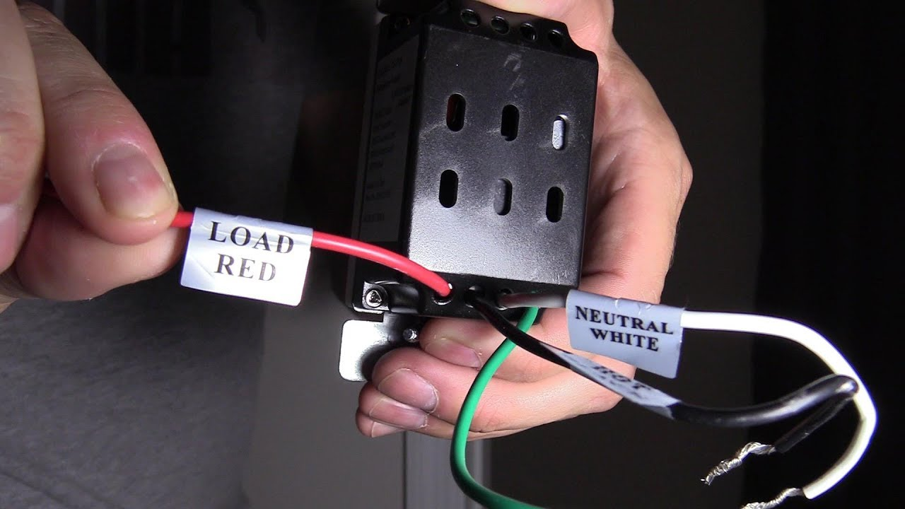 Easy Way To Wire A Motion Light Switch Installation Youtube 06turnoffcircuitbreakerbox