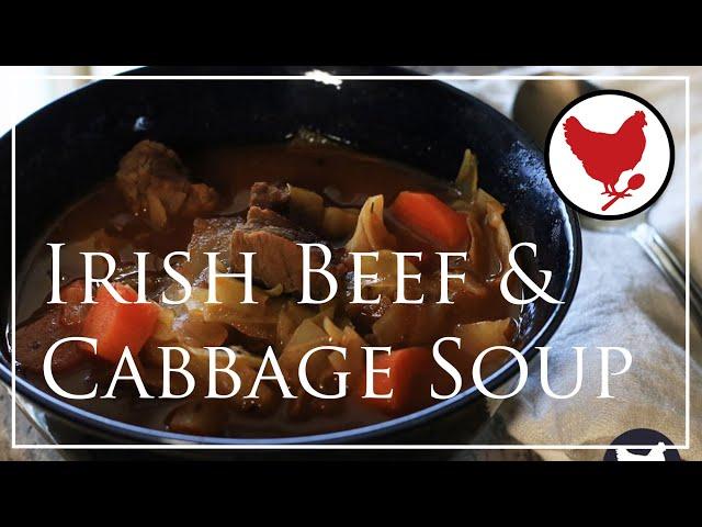 IRISH BEEF & CABBAGE SOUP (Recipe Teaser)