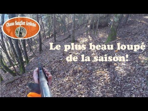 Chasse Du Sanglier En Ardèche 2014-2015 - 04 - Le Plus Beau Loupé De La Saison - 10 Janvier 2015
