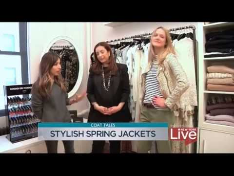 Spring Style Featuring J.Jill On New York Live