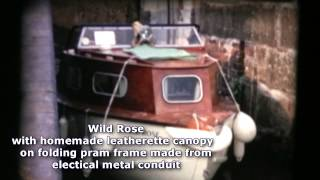 Canal Cruiser Diy Build In Marine Plywood 1970