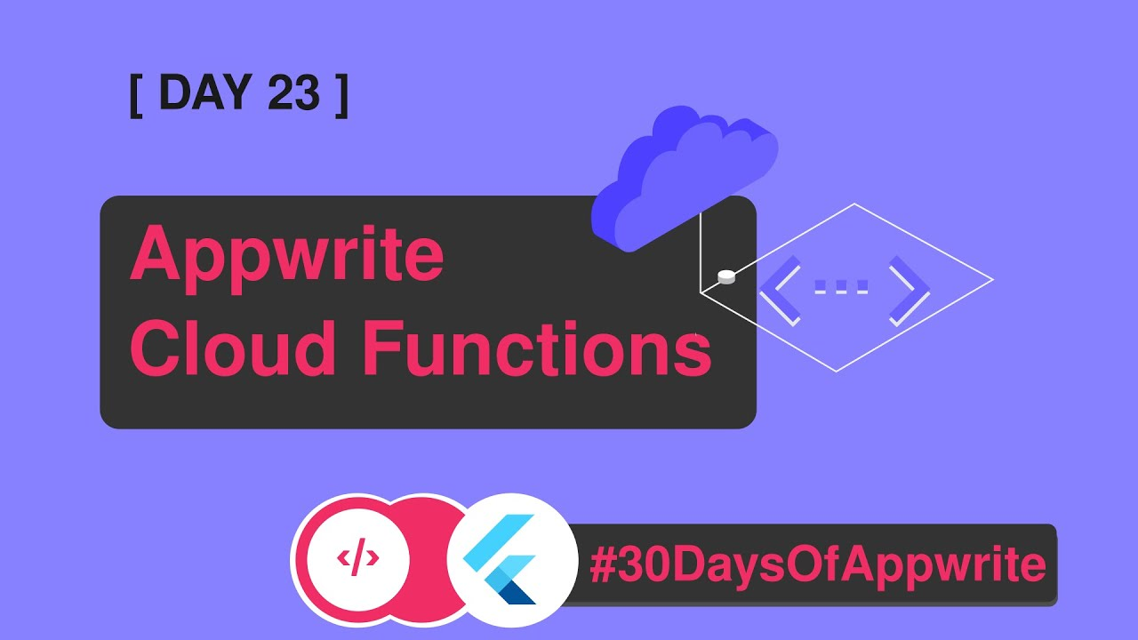 2️⃣3️⃣ #30DaysofAppwrite : Introduction to Appwrite's Cloud Function
