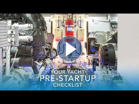 Yacht Pre-Startup Checklist