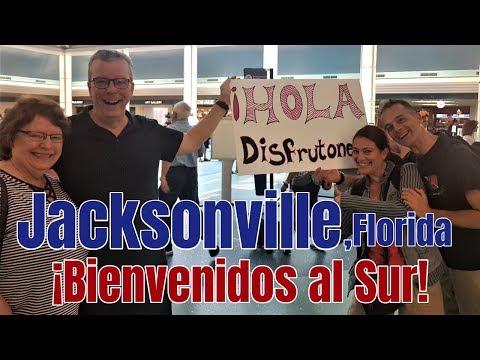 Jacksonville, Florida: ¡Bienvenidos al Sur!