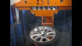 Тест на удар(спица) - колесные литые диски на BMW (БМВ). WSP Italy W660 ALICUDI
