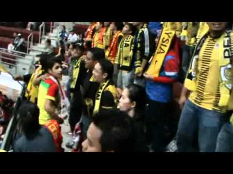 Ultras Malaya - Bersama Selamanya at EPL Masters Football Malaysia Cup 2011