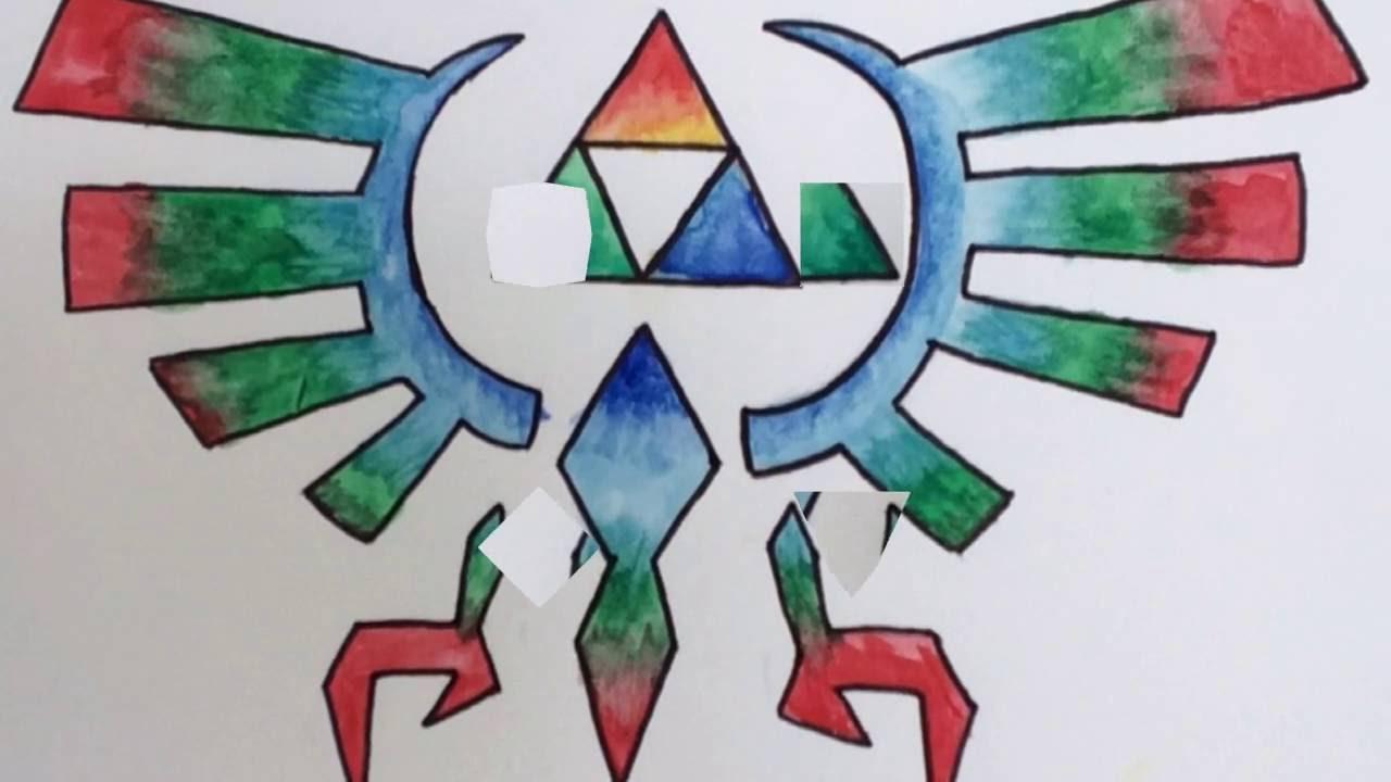 Triforce Zelda Dessin 1 Youtube